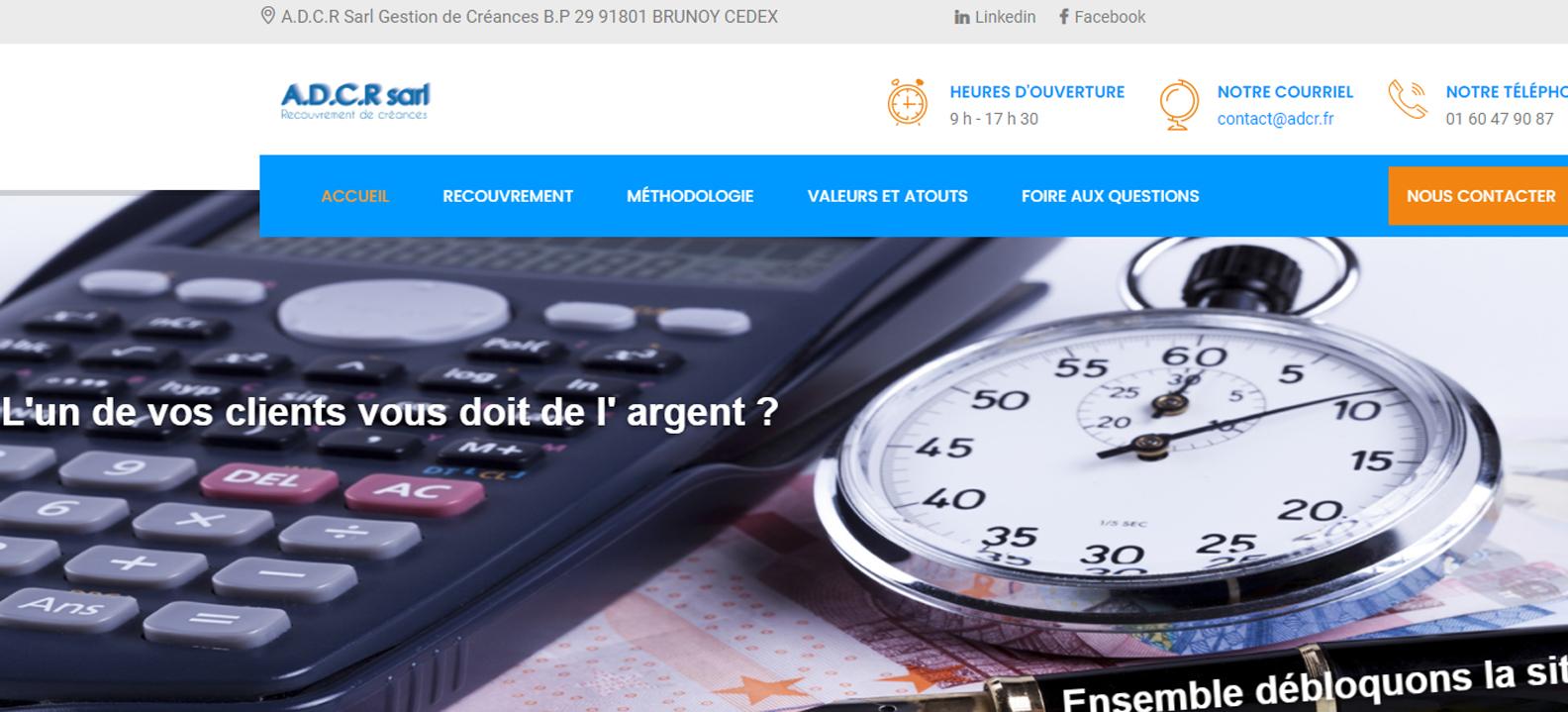 Site internet de Adcr